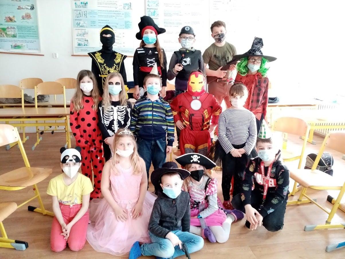 karneval v 2. třídě